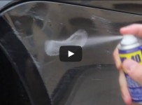 Fix Car Scratches with WD-40