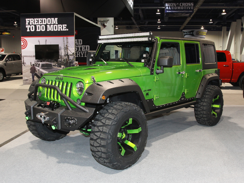 The Off Road Hall On The Sema Show 2014 Muscle Horsepower