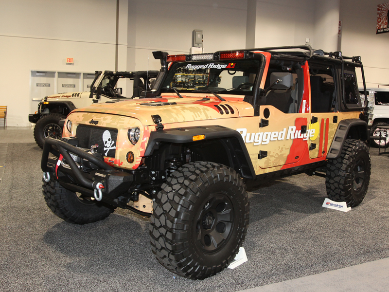 2016 Sema Truck Trend Jeep Wrangler Unlimited Rugged