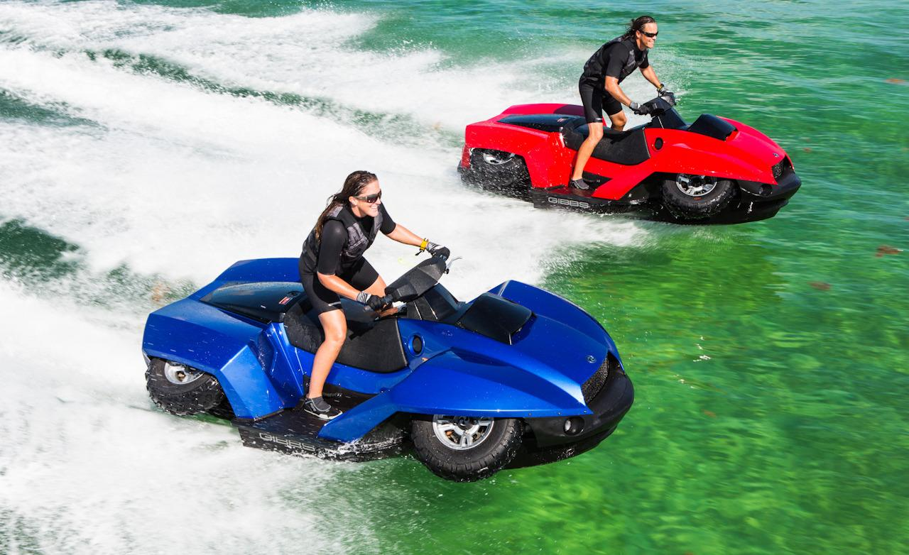 How Cool Is That ATV to Jet Ski in 5 Seconds Quadski  Muscle