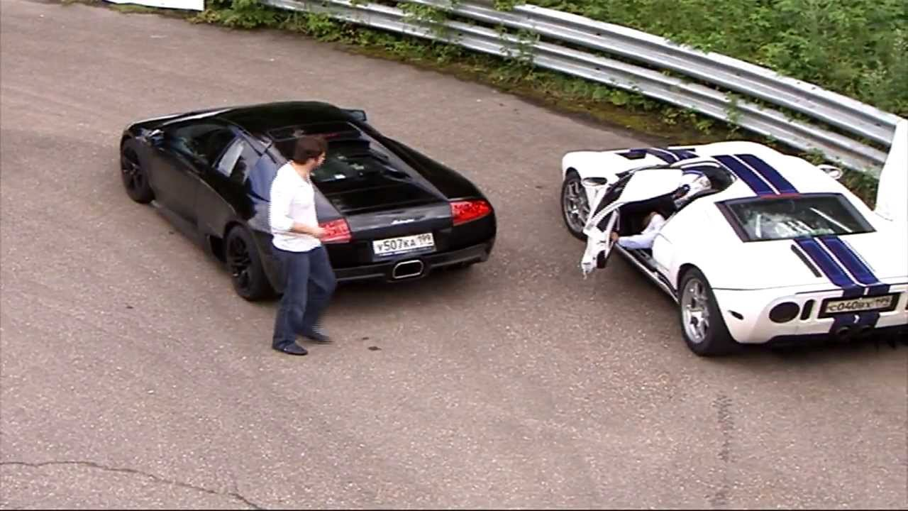 Ford GT40 by Heffner GT-1000 vs Lamborghini Murcielago LP640! | Muscle ...