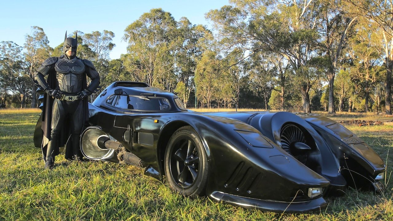 Man Builds Batmobile