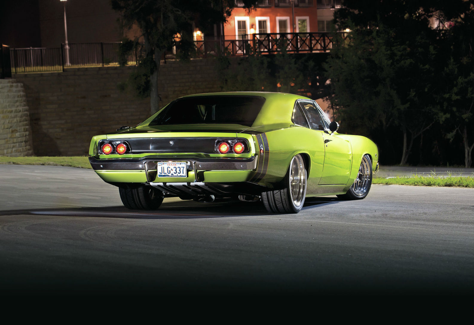 1968 Dodge Charger Slammed! Is This The Coolest Charger Ever? | Muscle