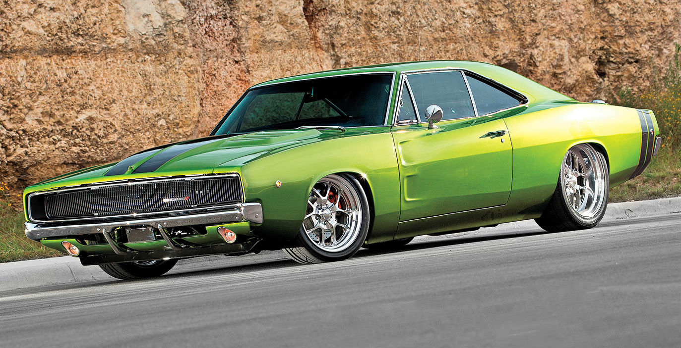 1968 dodge charger slammed is this the coolest charger ever muscle horsepower. Black Bedroom Furniture Sets. Home Design Ideas