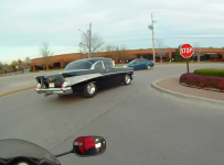 57-Chevy-Bel-Air-vs-Motorcycle-INSANE-FAST