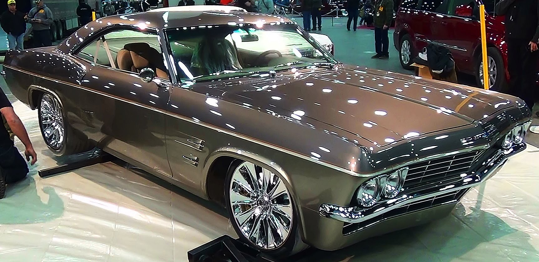 65 impala the imposter foose design 2015 ridler winner. Black Bedroom Furniture Sets. Home Design Ideas