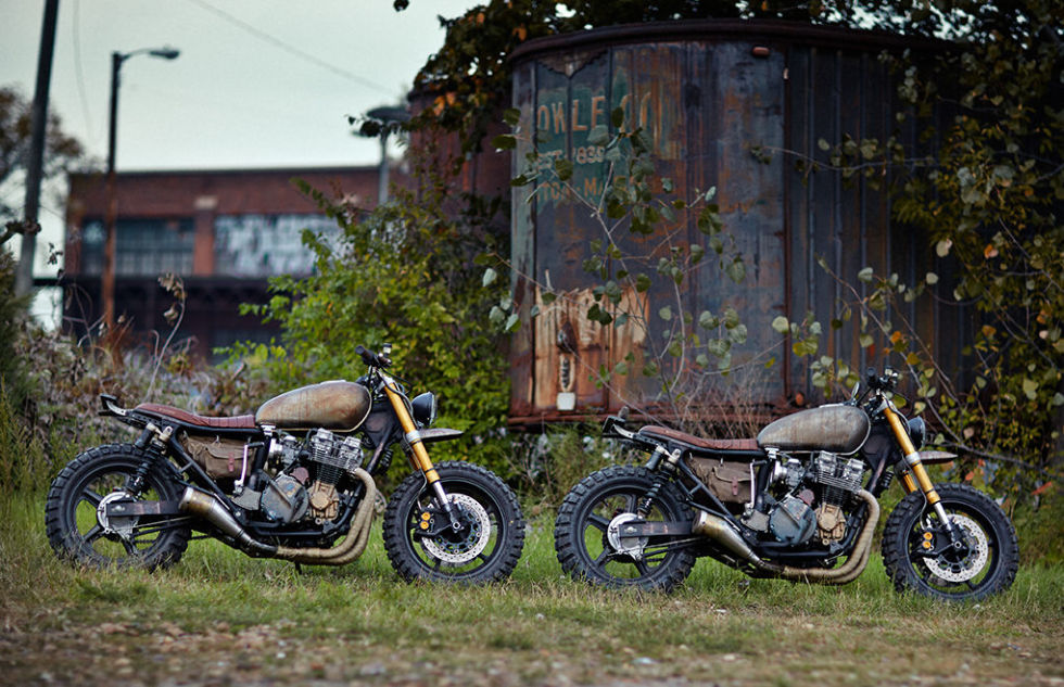 Daryl Dixon's new bike in The Walking Dead.