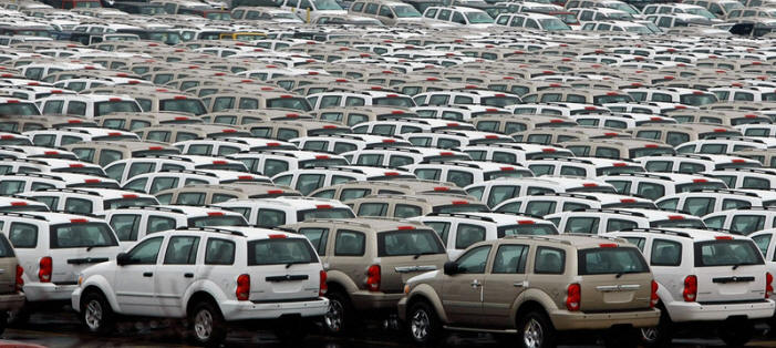 Where The Worlds Unsold Cars Go To Die Muscle Horsepower - How many google maps cars are there in the us