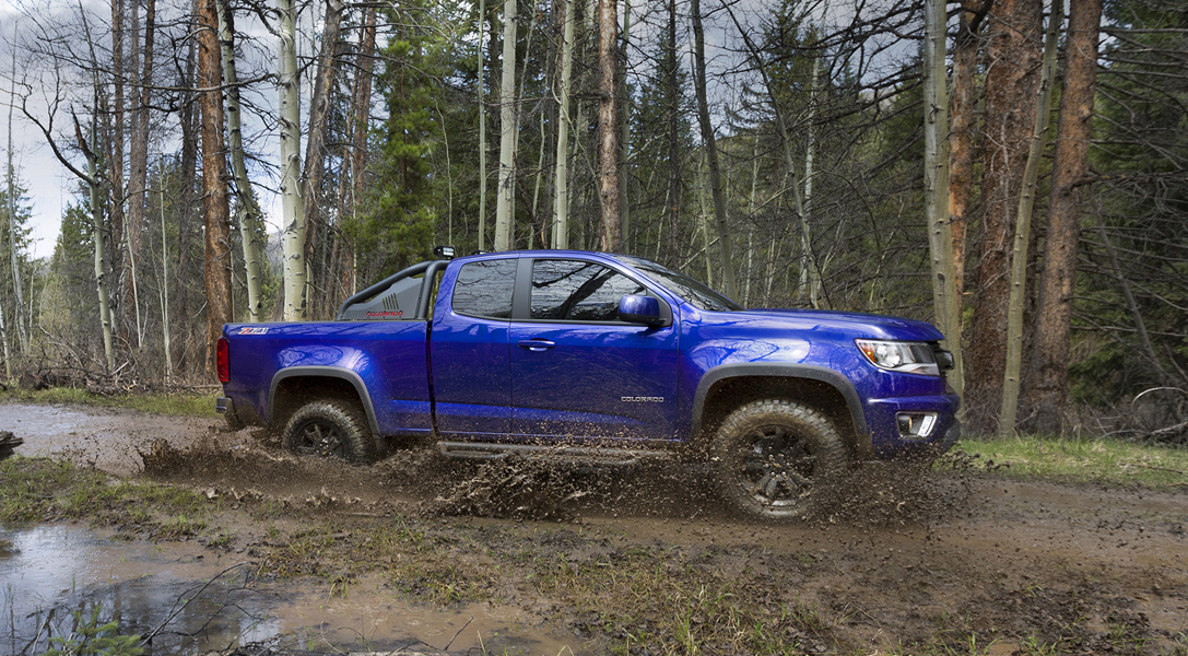 2016 Chevrolet Colorado Trail Boss