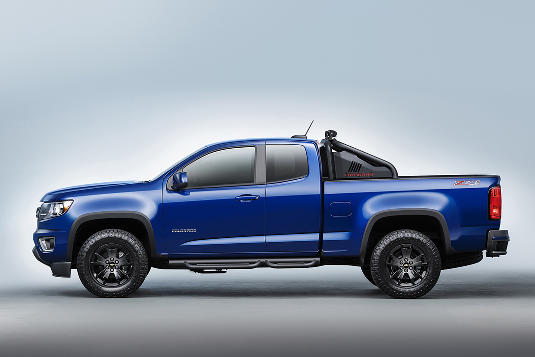 2016 CHEVY COLORADO TRAIL BOSS | Muscle Horsepower
