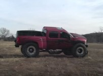 Chevy truck jump fail