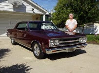 Check Out This Inspiring Story Of 1965 Chevrolet Chevy Malibu SS And Its Blind Owner