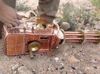 FULLY Functional Badass .22 Caliber Steampunk Gatling Gun!