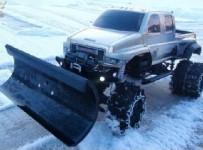 RC ADVENTURES - OVERKiLL SNOW PLOW