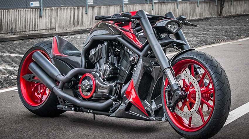 Drag Bikes For Sale >> Harley Davidson V Rod Based On The Koenigsegg AGERA-R by No Limit Custom NLC! | Muscle Horsepower