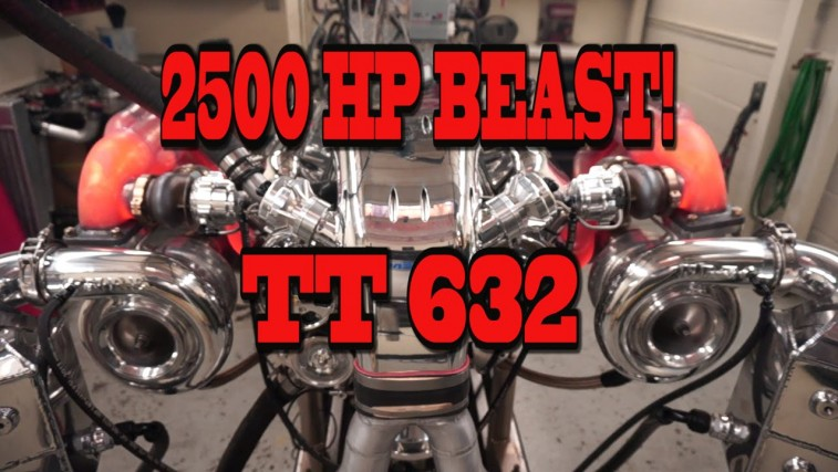 2500 HP Beastly Mirror Turbo 632 Big Block From NRE!