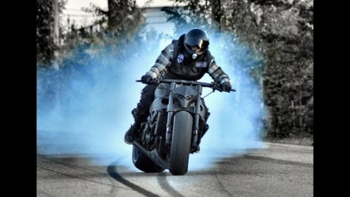 Epic 240hp Motorcycle Drift