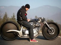 Morsus AKRAPOVIC Custom Motorcycle First Ride!!!