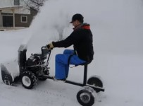 Snow Blower Sulky