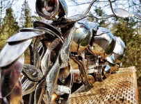 Custom-Bike-Made-Out-Of-Spoons