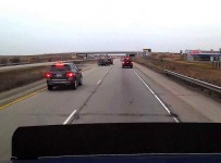 Tailgater Gets Brake Checked and Then Crashes!
