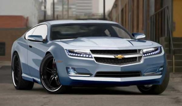 2017 Chevy Chevelle Front