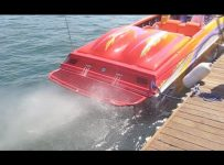 2600hp 575ci Outerlimits Powerboat! Loud Start Up!