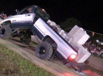 Redneck Tug of War Gone Wrong – Dodge Bends in Half!