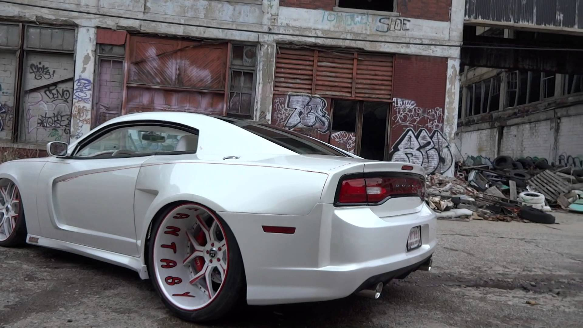 Dodge Charger Converted To Two Door Widebody Muscle