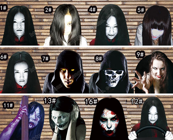 high-beam-reflective-scary-faces-decals-china-5