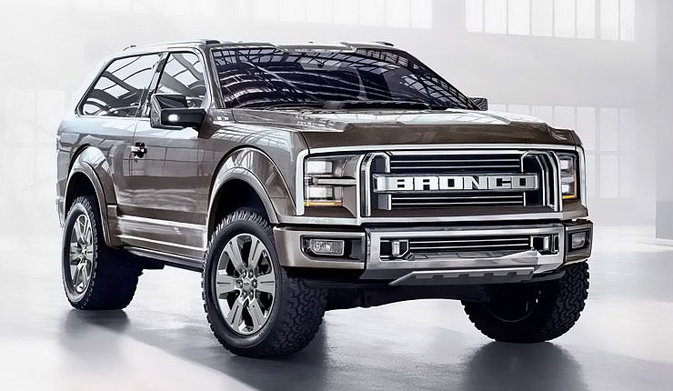 The New Ford Bronco