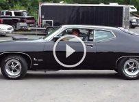 429cu 650HP V8 Powered 70′ Ford Torino Cobra is an Absolute Badass!