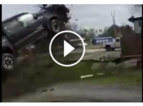 The Most Dramatic End To a Police Chase!