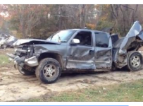 Hard To Believe This Crashed Chevy Still Runs!