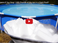 What Happens If You Drop 1,000 Pounds of Dry Ice in a Giant Pool?