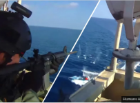 Shocking Video Shows Deadly Gunfight As Somali Pirates Try To Board Cargo Ship!