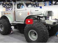 This 1941 Military 1/2 ton Dodge PickUp Truck Is A Perfect Tribute For WWII Vets