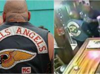HELLS ANGEL CONFRONTS FORMER PRO BOXER IN BAR – BRAWL ERUPTS!!!