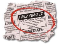 Gas Monkey Garage Is Looking For A Skilled Mechanic!