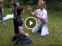"Delusional self defense guru dares martial artist to punch through his ""energy shield"""