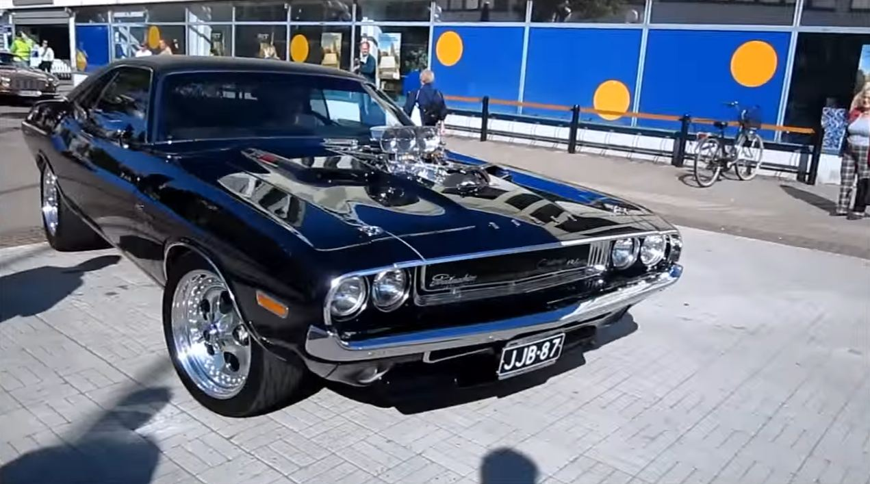 All Types challenger rt hp : This Blown 572 Hemi 1970 Dodge Challenger R/T Is A Masterpiece ...