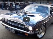 This Blown 572 Hemi 1970 Dodge Challenger R/T Is A Masterpiece!