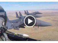 Breathtaking Aerial Footage From F-15E Strike Eagle Cockpit!