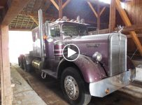 This Incredible Kenworth Truck Is An Awesome Barn Find That Tops All Other Finds!