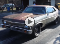 The Rusty Chevy Nova Twin Turbo Small Block Sleeper!