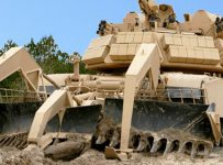US M1 Assault Breacher Vehicle Is World's Ultimate Mud Bog Destroyer!