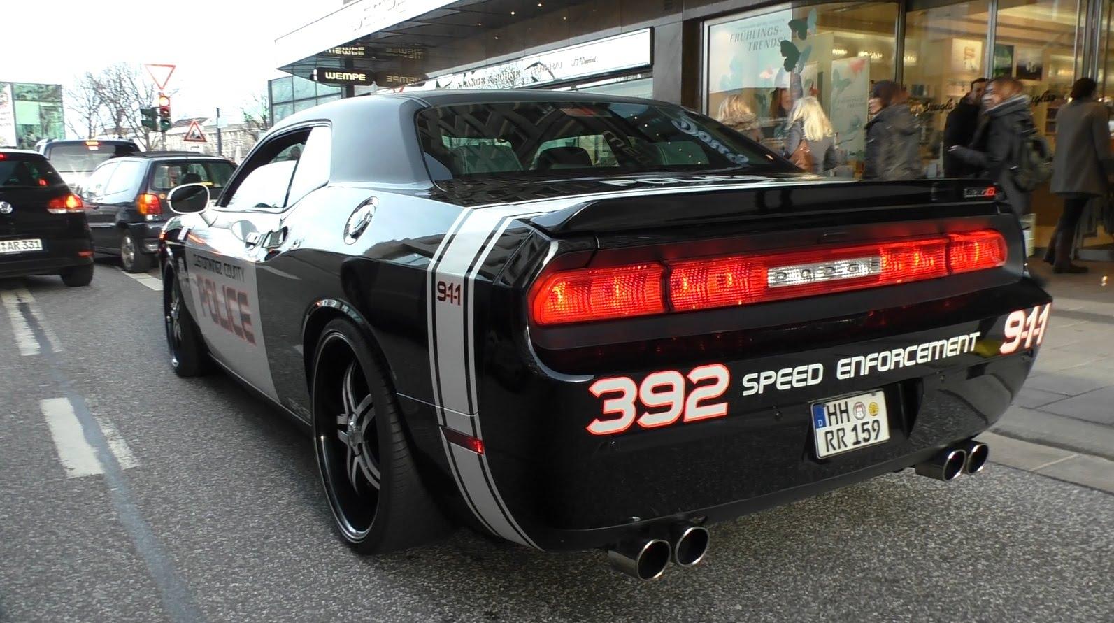 Dodge Challenge SRT Custom Police Car