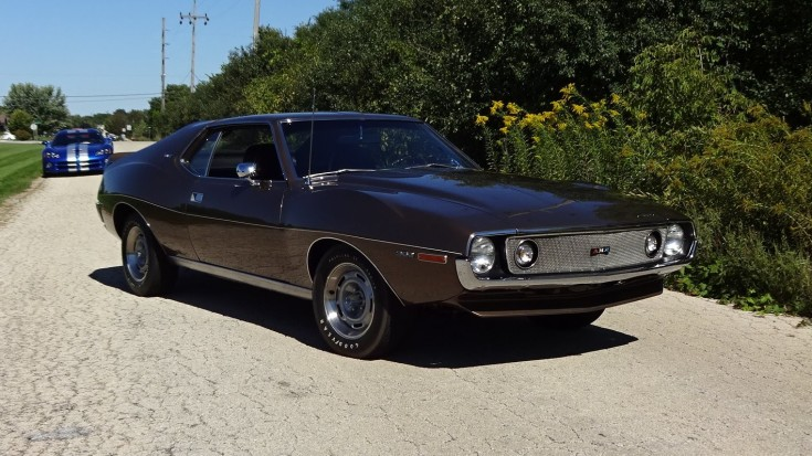 Restored 1971 American Motors AMC Javelin AMX 360