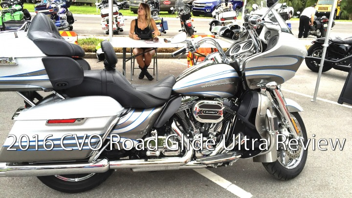 The 2016 Harley Davidson CVO Road Glide Ultra Is The Cream Of The Crop Harley Touring Bike!